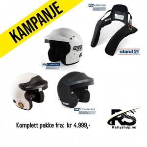 Bilde av FIA Hjelm+Hans-pakke